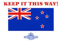 Keep the current NZ Flag